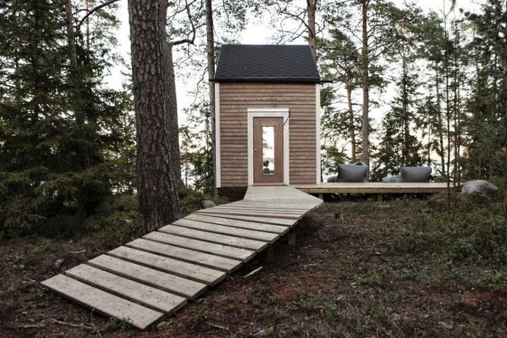 This Awesome Tiny House In The Woods