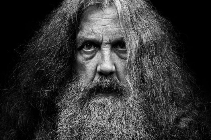 Alan Moore by Mitch Jenkins