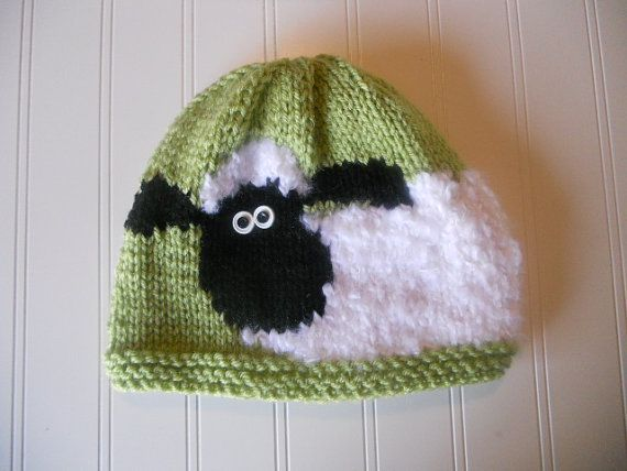 RESERVED for Tina - Fans of Sheep Hat - SUPER CUTE