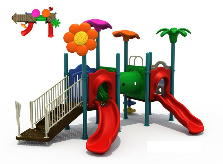 Kids Plastic Outdoor  Jungle Gym Playgrounds