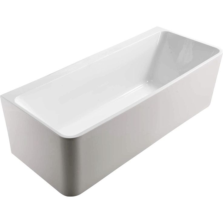 High Gloss AcrylicModern three sided bathDesigned to be next to a wallThin profile side wallsIncludes pop-up wasteIncludes adjustable legsEasy to cleanAvailable in two sizesLength: 1700mm  x  Width: 750mm  x  Height: 580mm Depth: 450mm
