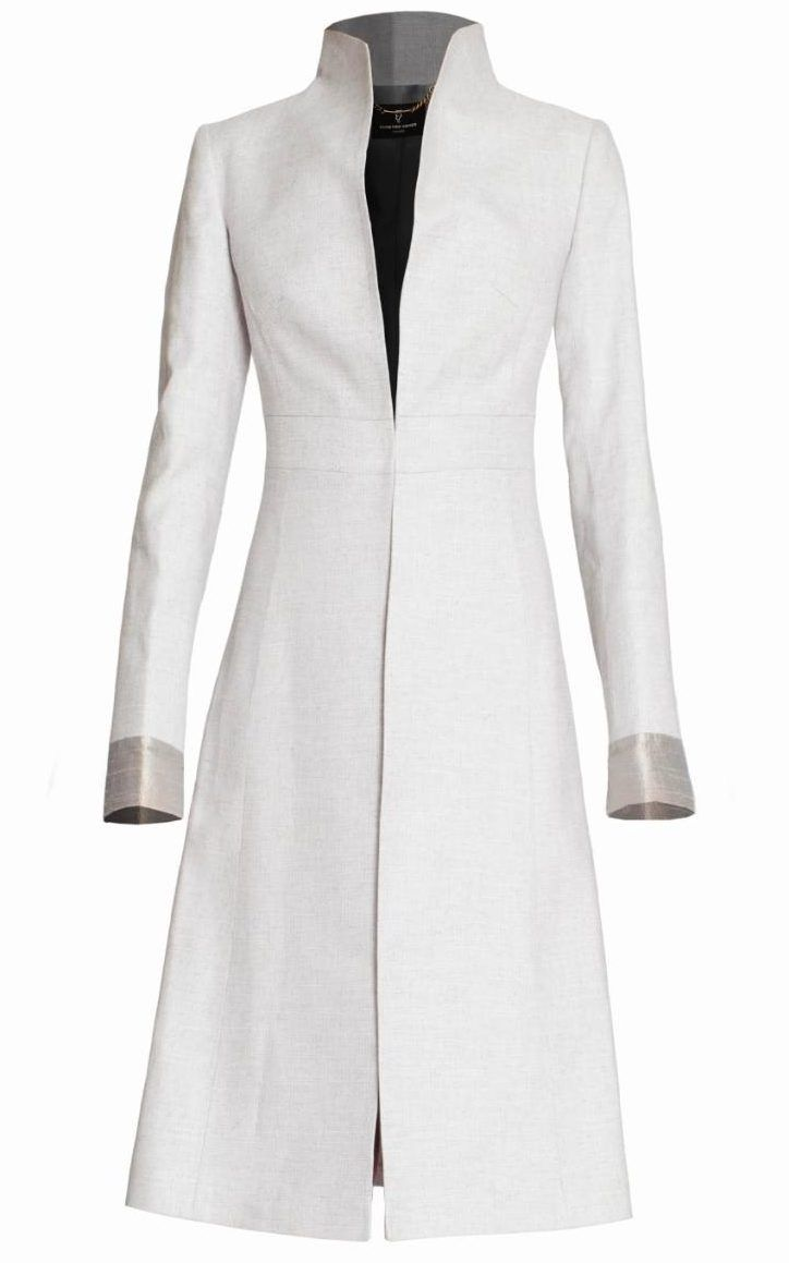 Buxton coat, £775, Katherine Hooker, March 2016
