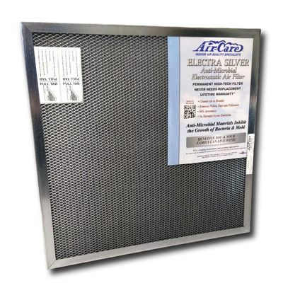 """Air-Care Electrostatic Air Conditioner Air Filter Size: 12"""" H x 12"""" W x 1"""" D"""