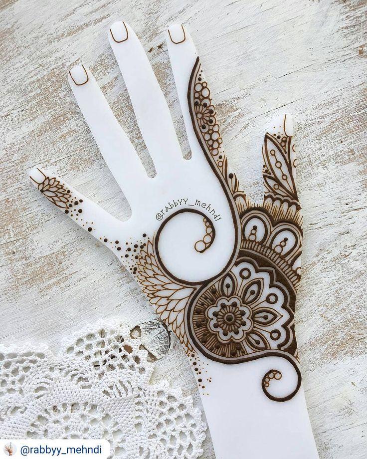 "201 Beğenme, 4 Yorum - Instagram'da imehndi.com (@imehndicom): ""Very inspiring henna art by @rabbyy_mehndi #repost #mehndi #mehndiart #mehndidesign #henna…"""