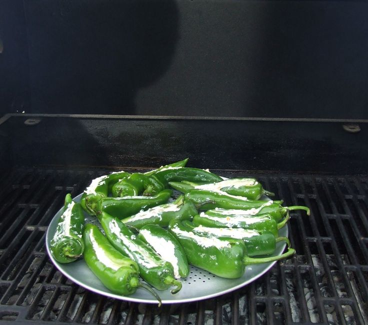 How To Make Stuffed Anaheim Grilled Peppers, an easy Roasted Recipe.