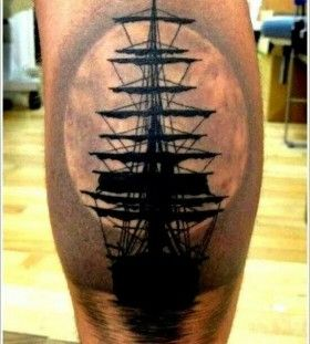 pirate ship tattoo - Google Search