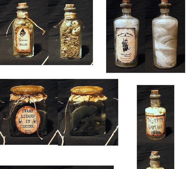 Homemade Apothecary Jars 5/5