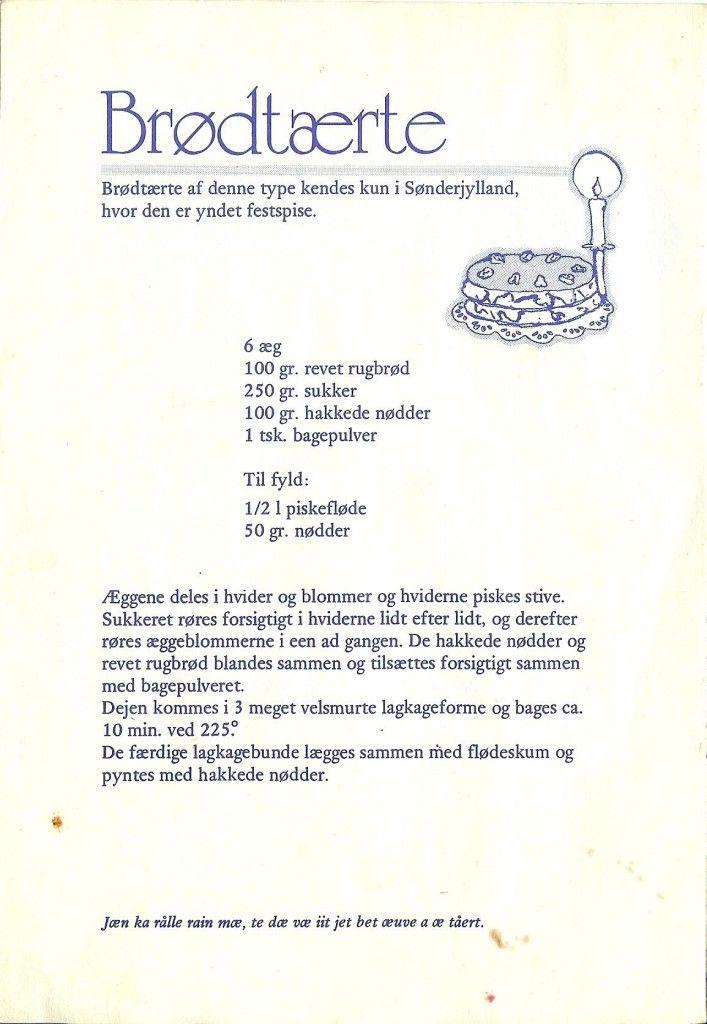 Brødtærte