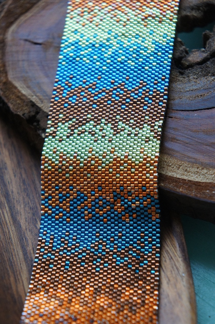 bargello braid peyote схема