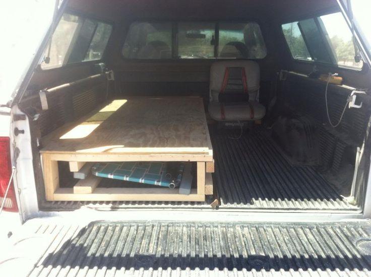 Camper Shell Living Quarters Truck Camping