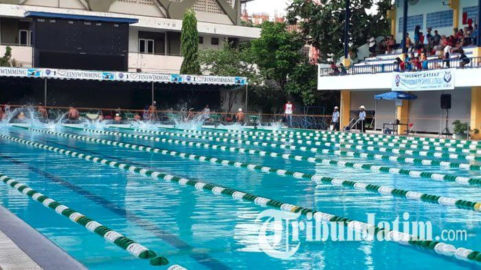 Unggul dari Pasuruan dan Banyuwangi, Surabaya Sabet Juara Umum Kejurnas Selam Fin Swimming 2017