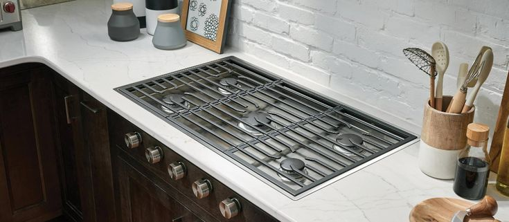 36 Quot Contemporary Gas Cooktop 5 Burners In 2020 Modern