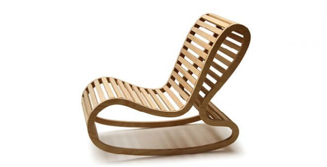 David Trubridge Roching Chair2 Modern Rocking Chair Rocking Chair Outdoor Rocking Chairs