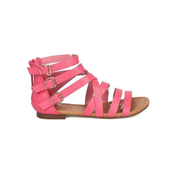 cb96c80808d Breckelle s Women Leatherette Gladiator Sandal - Casual- Summer ...