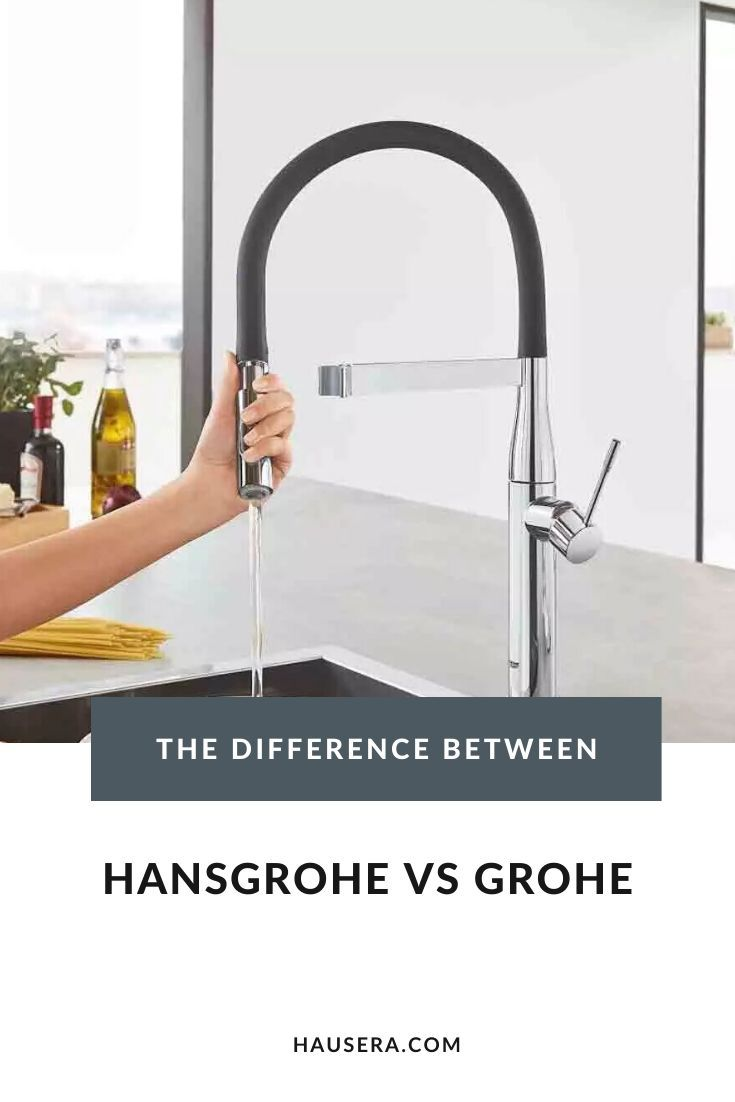 hansgrohe vs grohe what s the