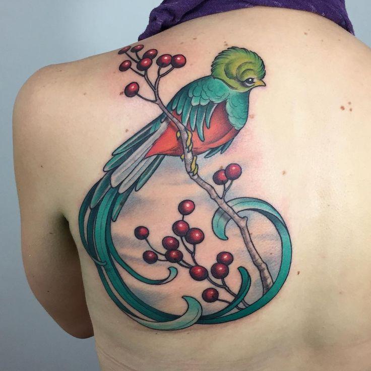 Quetzal. Look it up. #quetzal #bird #tattoo