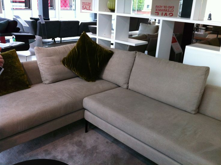 Plaza modular sofa from King - but different legs and proper cushions all the way around