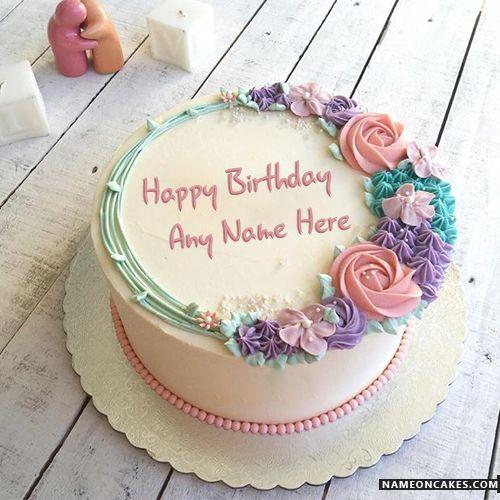 Schöne Namensgeburtstagskuchen Für Liebhaber Mit Namen   – Cake