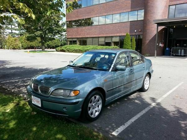Make Bmw Model 325xi Year 2003 Exterior Color Green