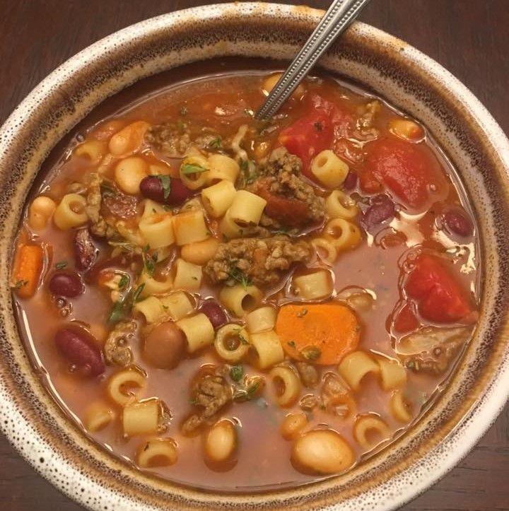 Olive Garden Slow Cooker Pasta Fagioli Recipe – The FAMOUS Recipes