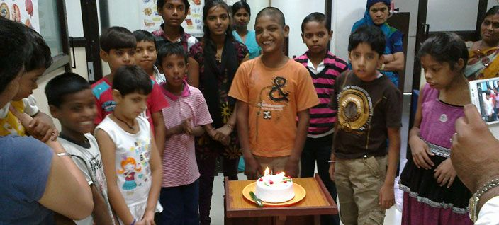 We celebrate every month birthdays of poor disabled chidren to show them their importance in family,friends,society and make them proud. Our donor can take direct participation to give them happiness.