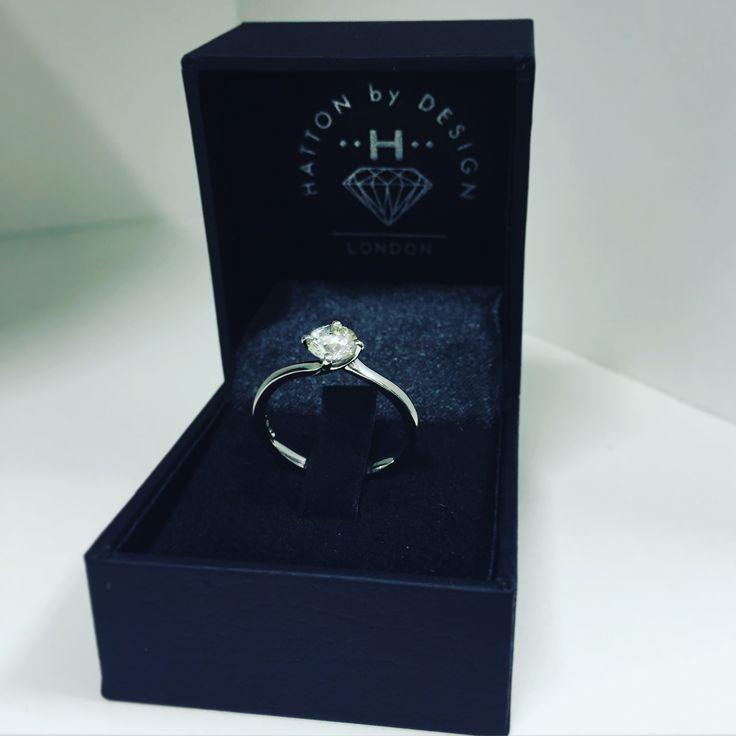 Hatton by Design Olivia Diamond Engagement Ring