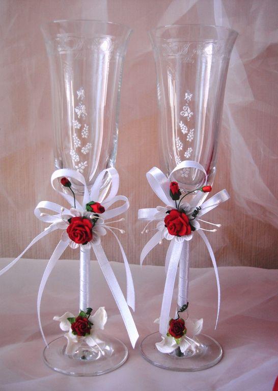 313 best images about botellas y copas para bodas xv on for Copas de champagne