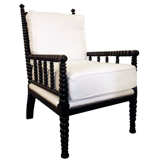 Abacus Chair By Noir   A Classic Shaped Bobbin Chair For Any Room Birch  Wood With