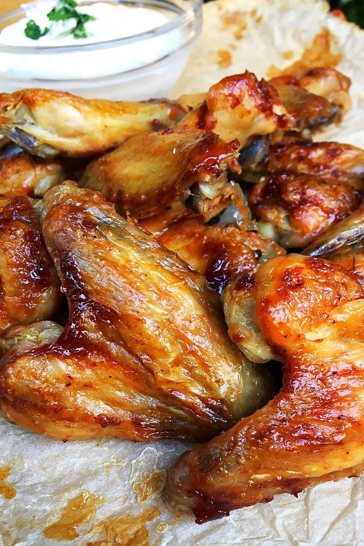 A legfinomabb sült csirkeszárny recept