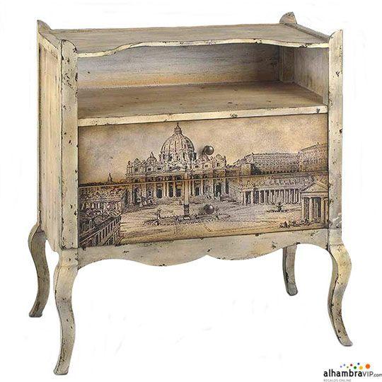 Muebles vintage de Alambra Vip : Nuestra tienda amiga Alhambra Vipestrena una nueva colección de muebles auxiliares de estilo vintage. Aquí describimos las encantadoras piezas: Mesita de