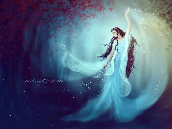 Luthien Tinuviel by Celtica-Harmony on deviantART