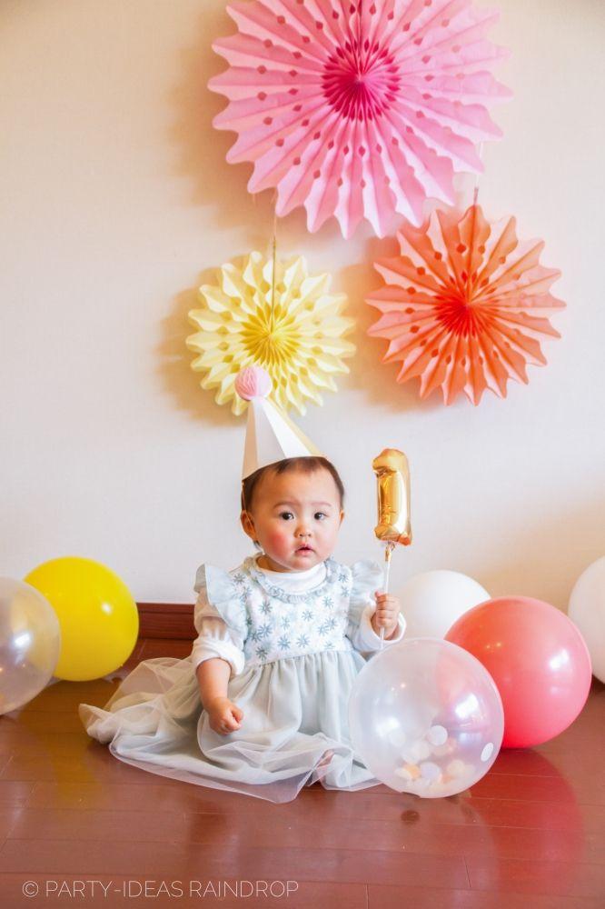 1st Birthday Photo shoot /1歳のお誕生日/Party-ideas Raindrop