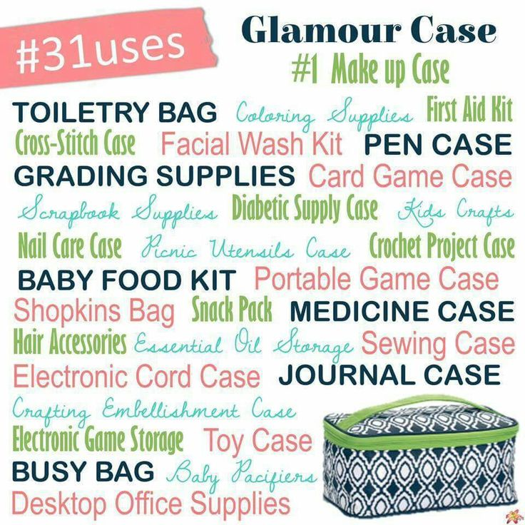 www.mythirtyone.com/beckflem *Glamour Case * Thirty One * Gifts * 31 Uses*