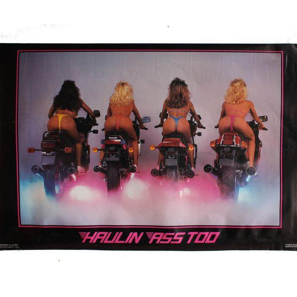 haulin ass 1980 u0026 39 s glamour poster