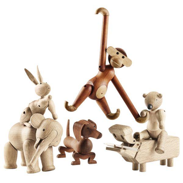 Rosendahl: Wooden toys by Kay Bojesen