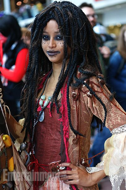 Tia Dalma of Pirates of the Caribbean. N.Y. Comic Con '12.