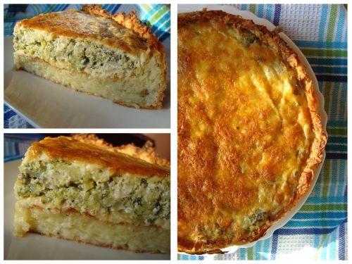 Bulvių pyragas su brokoliais (2)