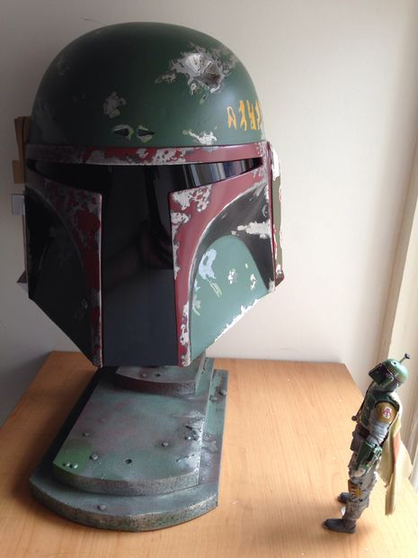 Picture of Painting A Boba Fett Helmet ( With Spray Cans )