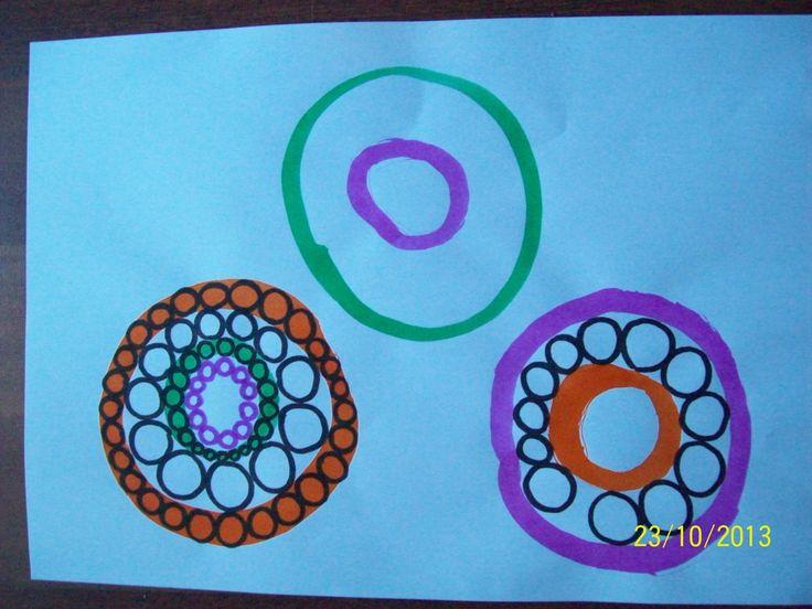Le rond, d'après RETZ Ateliers graphiques MS - La classe de WJL