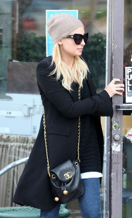 Newlywed Nicole Richie is coming out of salon after getting her nails done in West Hollywood,CA