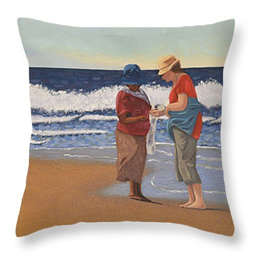 """Arty throw pillows, in different sizes, to add some 'je ne se qua' your home, from the bedrooms, dining room, lounge and study...or to spice up your office, waiting rooms and/or reception areas. Click here -> http://leana-de-villiers.artistwebsites.com/products/shell-treasures-leana-de-villiers-throw-pillow-14-14.html to place your order. """"Shell Treasures"""" Throw Pillow 14"""" x 14"""" http://leanadevilliers.com/"""