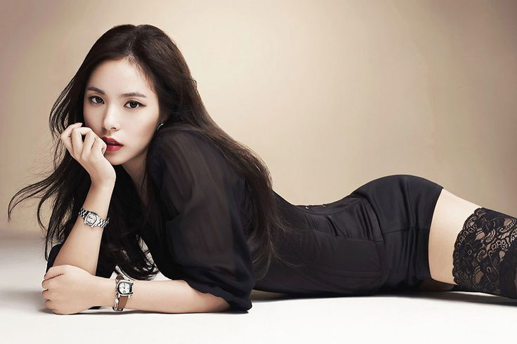 Min Hyo Rin - Aigner Watch Photoshoot