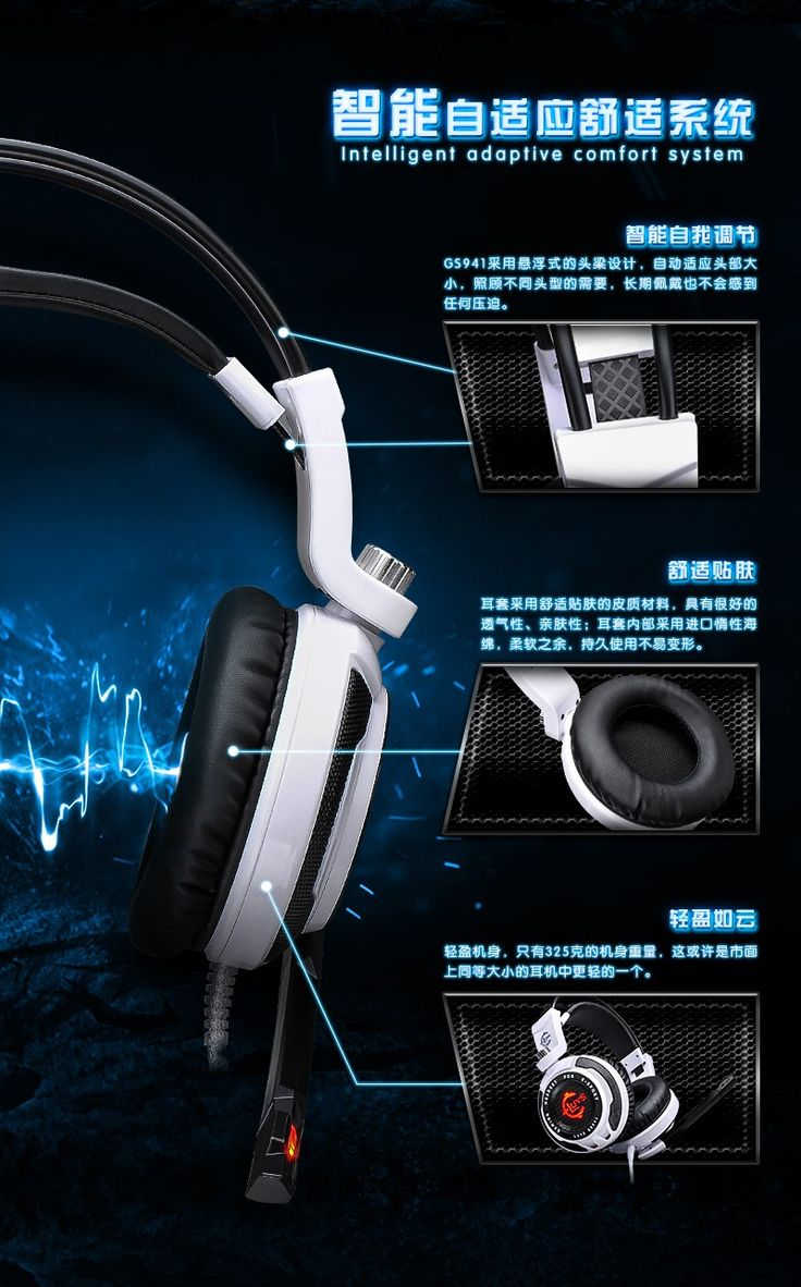 Headset Casque Audio Gaming Audifonos Computador PC Gamer 7.1 Fone De Ouvido MP3 Headphones With Microphone Headphones Gaming | #HeadphonesGaming