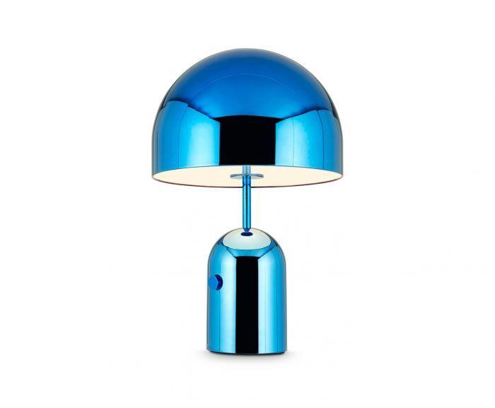 Bell Table Light Blue Large Lighting Tomdixon Net Lamp Light Table Table Lamp