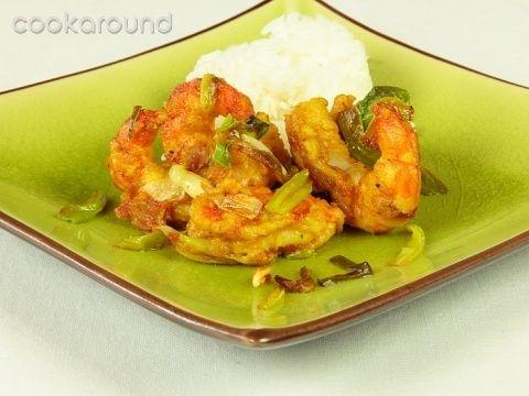 Gamberetti al curry croccanti: Ricette Singapore   Cookaround
