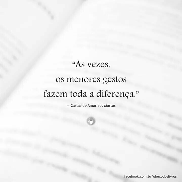 Muita diferença.