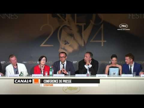 ▶ Cannes 2014 LEVIATHAN Press Conference - YouTube