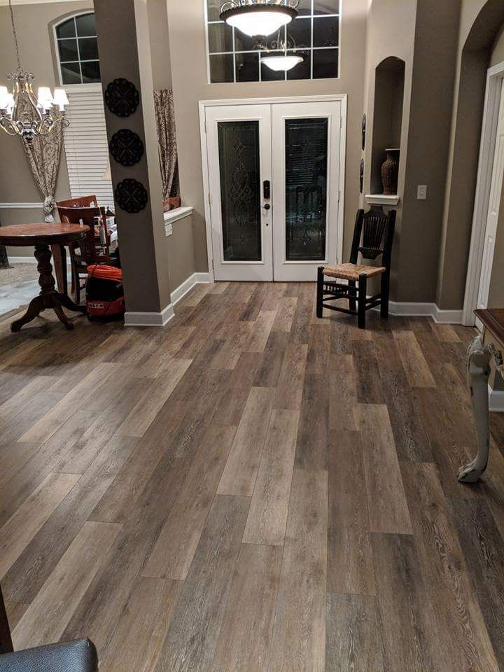 Beautiful And Durable 100 Waterproof Vinyl Flooring Floors And More House