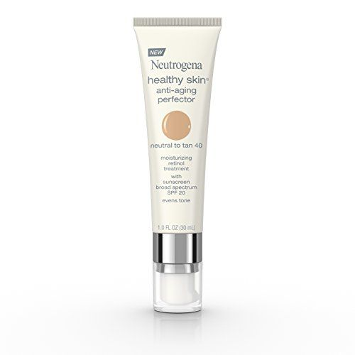 Neutrogena Healthy Skin SPF 20 Anti-Aging Perfector, 40/Neutral to Tan, 1 Fluid Ounce * Read more  at the image link.