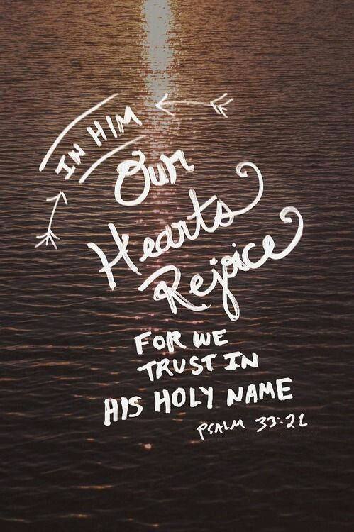 We Wait In Hope For The Lord He Is Our Help And Shield Him Hearts Rejoice Trust His Holy Name Psalm 21 NIV Via